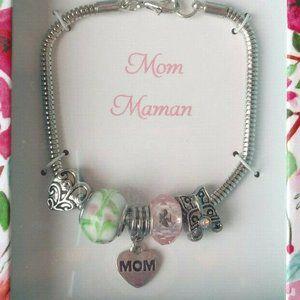 Jewelry - Mom Charm Bracelet